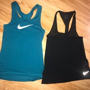 Set of 2 Nike Tank Tops